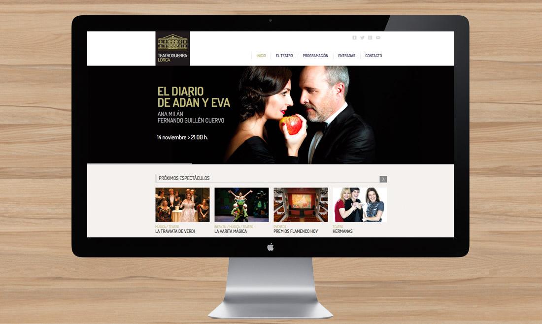 Web Teatro Guerra