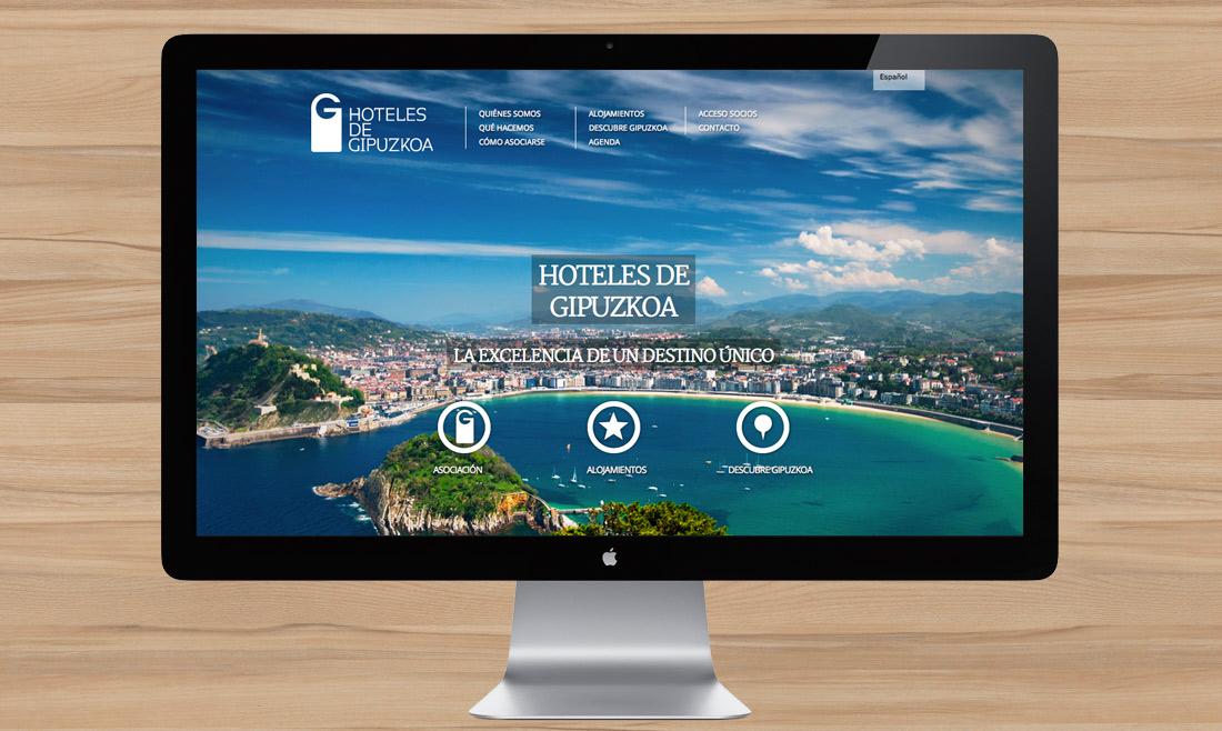 Web Hoteles de Gipuzkoa