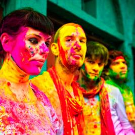 The Gift, música llena de color